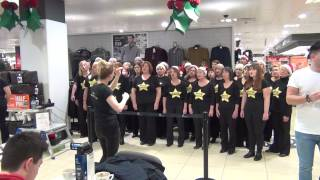 Bromsgrove & Redditch Rock Choir sing Fall At Your Feet.