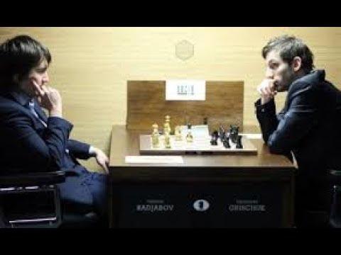 Grischuk`s epic battle vs Radjabov (Sicilian)2017  Geneva