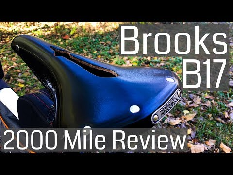 Brooks B17 Imperial Saddle 2000 Mile Review