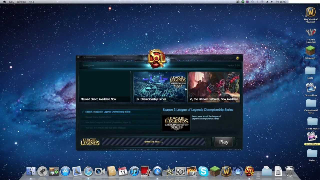 How to get League of Legends for Mac  Updated    YouTube