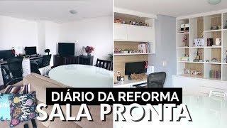 A reforma acabou! - Diário da Reforma #4 | Lia Camargo
