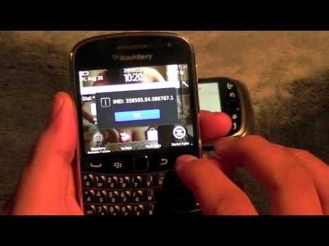 How to Unlock Blackberry Bold 9900 or 9930