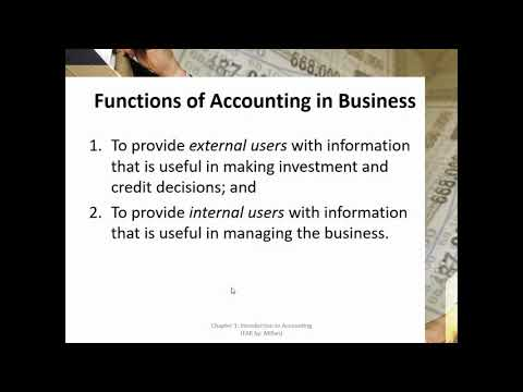 1 Introduction to Accounting