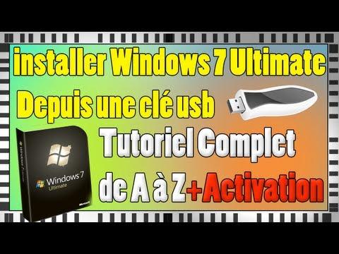 Installer Windows 7 Edition Intégrale Depuis Une Clé USB En Français  3264 Bits  Tutoriel