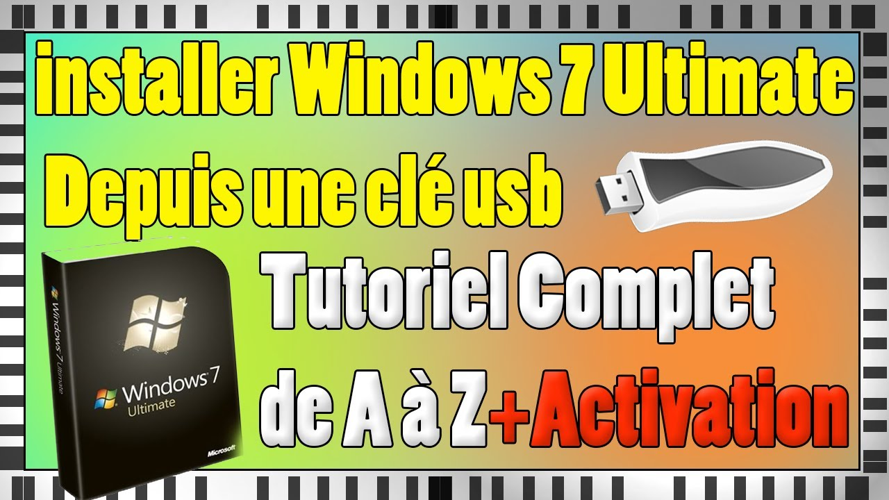 Installer windows 7 edition int grale depuis une cl usb - Open office windows 7 gratuit francais ...