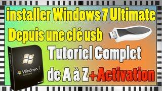 Installer Windows 7 Edition Intégrale Depuis Une Clé USB En Français | 32-64 Bits | Tutoriel