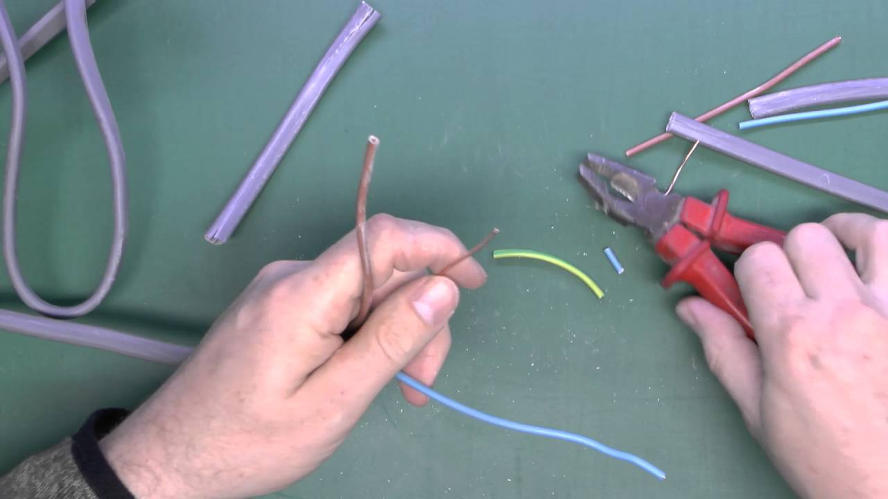 Using Twin Earth Cable Youtube Wiring A Lamp With