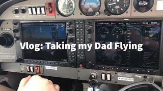 Vlog: Flying My Dad in a Diamond DA40