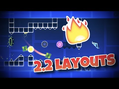 Top 5 Best 2.2 LAYOUTS In GEOMETRY DASH