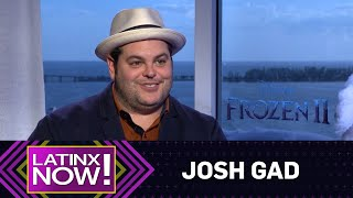 Josh Gad Tells Who's Worth Melting For | Latinx Now! | E! News