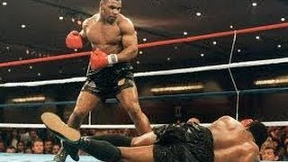 Mike Tyson BIGGEST K'Os Knockouts 'Baddest man on the Planet' fight boxing montage