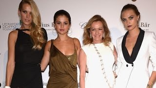selena gomez stuns in two totally different looks at leonardo dicaprios foundation gala 1