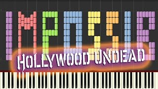 Hollywood Undead - Everywhere I Go IMPOSSIBLE REMIX PIANO