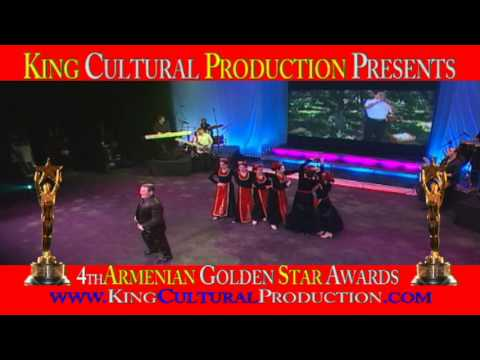Hamlet Gevorgyan Tsiran Armenian Golden Star Awards 2012