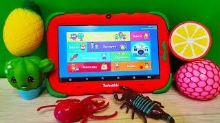 Детский Планшет TurboKids S5 распаковка обзор