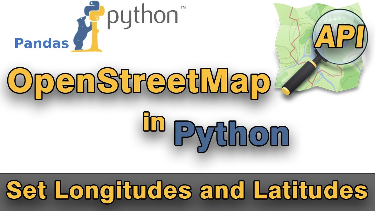 Python: OpenStreetMap API - add Longitudes and Latitudes by using Geopy  module