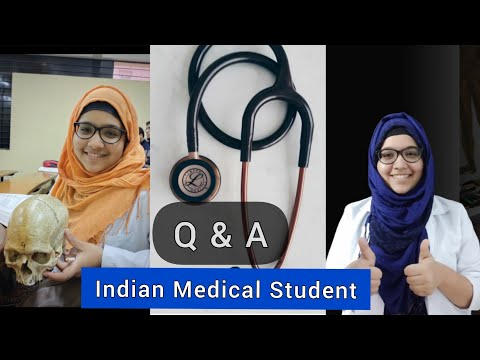 Medical Student -Q & A | Neet preparation journey,  inspiration to become doctor… | ANISA AMIN
