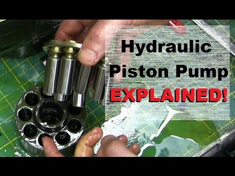 100 HORSEPOWER in your HAND. Hydraulic PISTON PUMP!