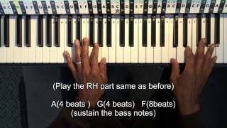 How To Play SIA Breathe Me Easy Piano Lesson Beginner Tutorial