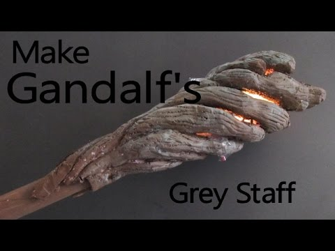 Make gandalf the greys staff from the hobbit youtube make gandalf the greys staff from the hobbit solutioingenieria Images