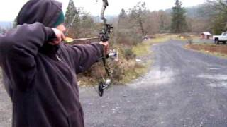 More 60 Yard Taret Practice with Bowtech SWAT 2009