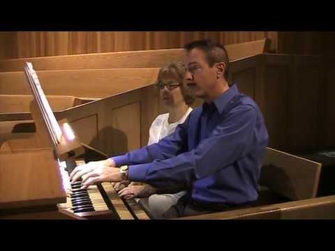 Evensong Op  68 - Charles Callahan -  Organ Duet; Linda Wight & Stewart Scharch Organists