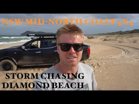 4x4 Storm Chasing Adventure at Diamond Head - NSW Mid-North Coast Beaches