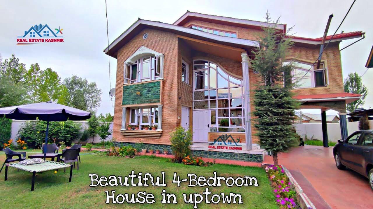 4-Bedroom luxurious house for sale in rawalpora,srinagar | Realestatekashmir