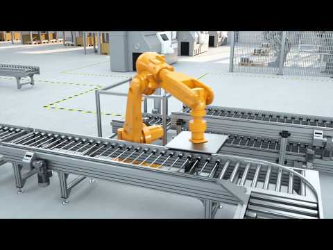 TS 5 Transfer System: easy-to-design roller conveyor for heavy payloads