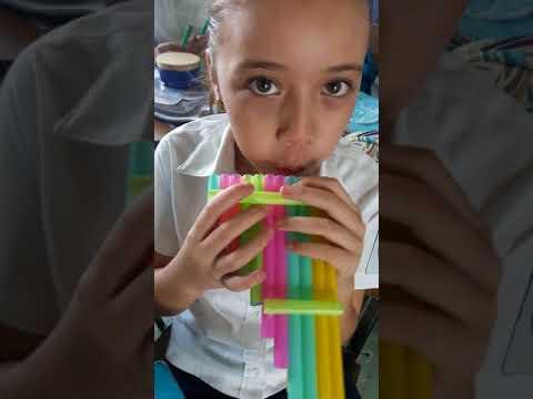 Elaboración de un instrumento musical con materiales reciclados 1