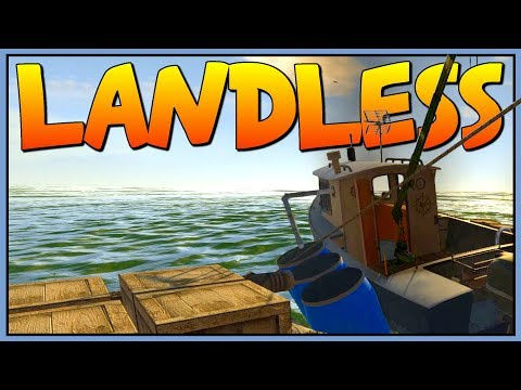 THE SECRET MERCHANT BOAT - Fixing Our Ship - Let's Play Landless Gameplay