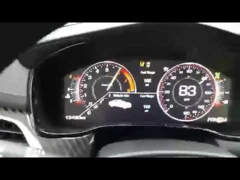 2017 Cadillac Cts V Sport 0 100 60