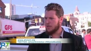 aAhmadiyya Mobile Muslims campaign visits Ottawa, Canada