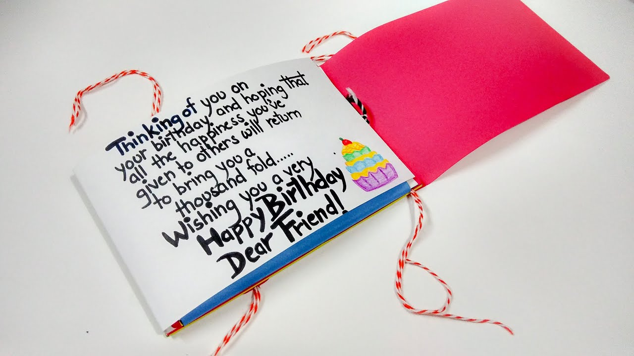 Paper Quilling Best Birthday Card Ever by Artist Archana