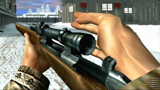 Medal of Honor Allied Assault Sniper Mission Gameplay