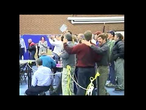 Bedford High School - The Historic Vote - Election Day - March, 2005