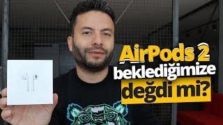BEKLEDİĞİMİZE DEĞDİ Mİ? - Apple AirPods 2 Kutu Açılışı!