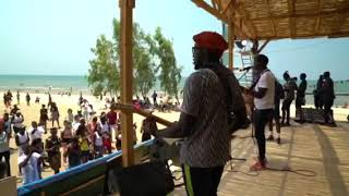 Lake of Stars 2018 - Sauti Sol sound check