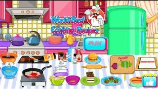 World Best Cooking Recipe Games, Cooking Recipe Games, Baking Indian Food