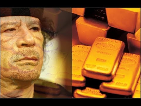 The PAN African Gold Dinar Currency killed by Clinton lead to downfall of Libya!!!!