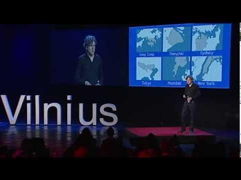 TEDxVilnius - Koen Olthuis - Top 10 trends Towards Floating Cities