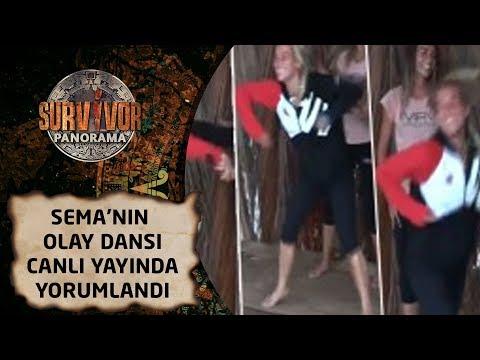Survivor Panorama | 61. Bölüm | Sema'nın olay dansı canlı yayında yorumlandı! 'Kendini kaybediyor'