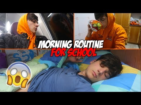 MY MORNING ROUTINE FOR SCHOOL