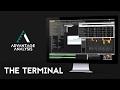 Stock market software trailer --- The Terminal
