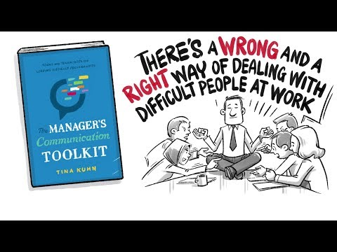 """The Manager's Communication Toolkit"" By Tina Kuhn - BOOK SUMMARY"