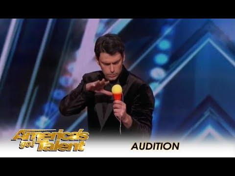 Lioz Shem Tov: Israeli Mentalist Has SUPERPOWERS - But Is It Funny? | America's Got Talent 2018