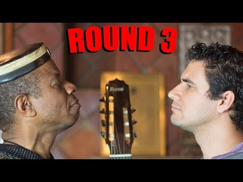 Guitar Duel ROUND 3: Robson Miguel vs Marcos Kaiser (BADEN POWELL)