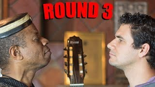Guitar Duel ROUND 3: Robson Miguel vs Marcos Kaiser (BADEN POWELL) thumbnail