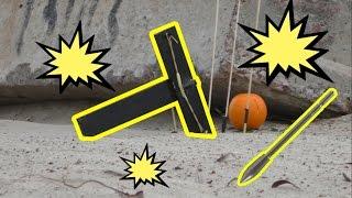 Как сделать мини арбалет с разрывными стрелами своими руками в домашних условиях