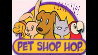 Pet Shop Hop: LINE UP!